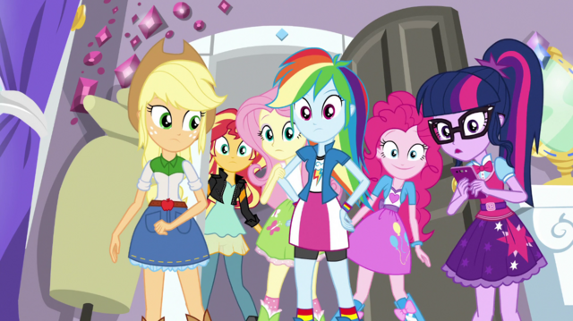 File:The Equestria Girls in Rarity's bedroom EGS1.png