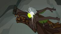 A rock hitting the timberwolf S3E9