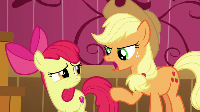 "File:Applejack ""tellin' lies won't fix anything"" S6E23.png"