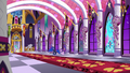 Celestia and dignitaries come through faraway door S7E10.png