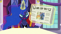 "Princess Luna ""but I wasn't unhappy!"" S7E10"