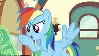 "Rainbow Dash ""exactly what you need to focus!"" S6E18"