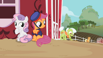 Sweetie Belle & Telegram Scootaloo S2E12