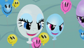 Balloon Rarity and Rainbow laughing S2E01.png