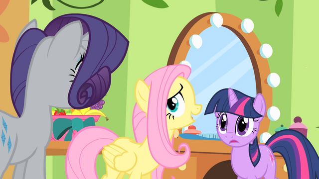 File:Fluttershy cornered by Rarity and Twilight S01E20.png