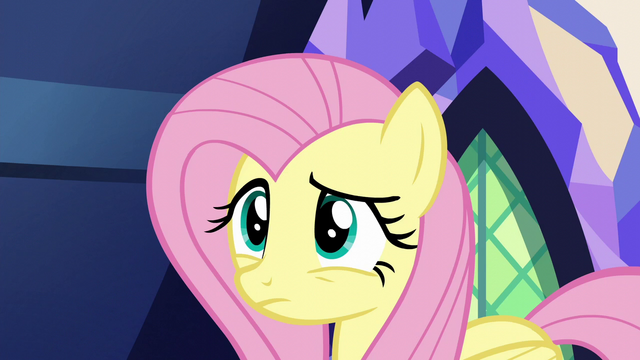 File:Fluttershy watches Zephyr speed away S6E11.png