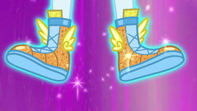File:Rainbow Dash wearing winged boots EG4.png