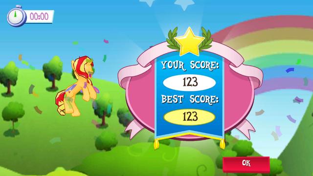 File:Sunset Shimmer Flying game Win MLPMobileApp.png