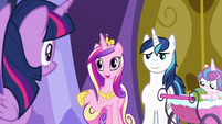 "Princess Cadance ""what are you doing next Tuesday?"" S7E3"