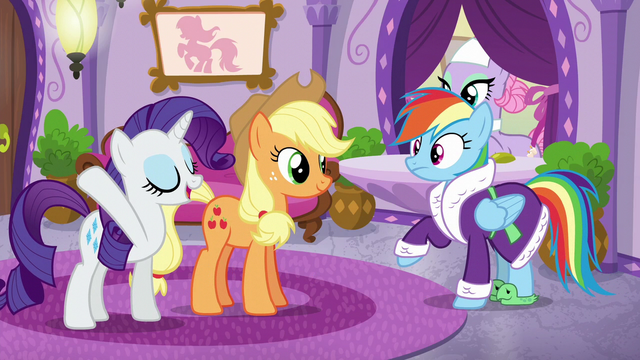 """File:Rarity """"just heading in for some pampering"""" S6E10.png"""