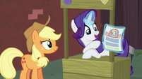 "Rarity ""this must be why the map called us here"" S5E16"