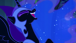Nightmare Moon laughing S5E26
