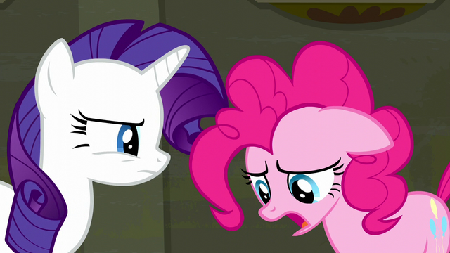 "File:Pinkie Pie ""make them be quiet"" S6E9.png"
