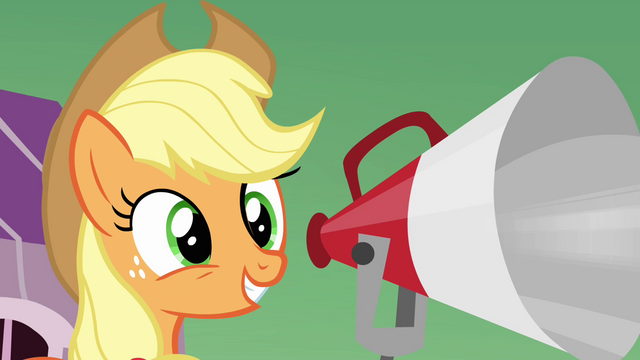 File:Applejack 'And there's lots more to come after that!' S3E08.png