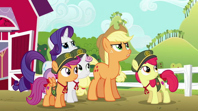 File:Applejack gives Rainbow Dash a warning S6E15.png