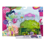 Explore Equestria Fluttershy Cottage playset packaging
