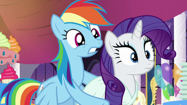 "File:Rainbow ""Don't you know who this is?"" S5E15.png"