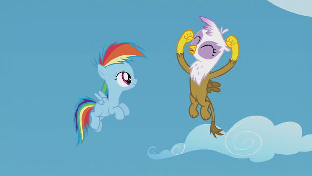File:Young Gilda sings the Junior Speedsters chant S5E8.png