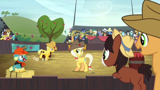 File:Young Trouble Shoes watching a rodeo S5E6.png