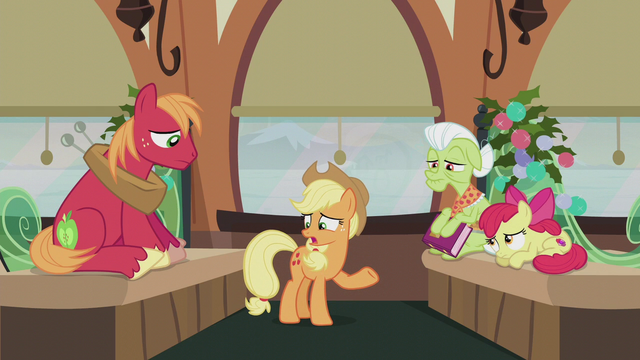 "File:Applejack ""never asked why they did 'em!"" S5E20.png"