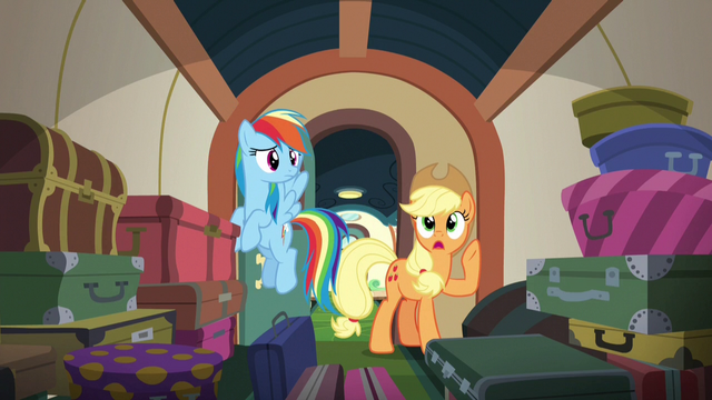 File:Applejack calls out to Fluttershy and Pinkie S6E18.png