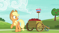 Applejack looking surprised at Pinkie S6E18.png