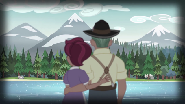 File:Old Spice and Dove gazing at the Everfree lake EG4.png