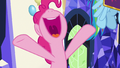 "Pinkie Pie cheering ""yay!"" S7E14.png"