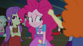 Pinkie Pie walking past booing students EG2.png