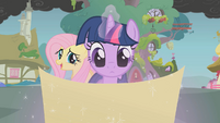 Twilight and her map S1E07