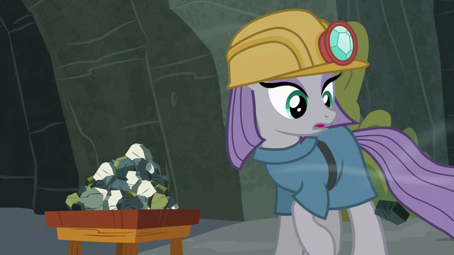 File:Maud Pie sees one of her rocks roll away S7E4.png