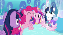 "Pinkie ""AND have crazy baby magic!"" S6E1"