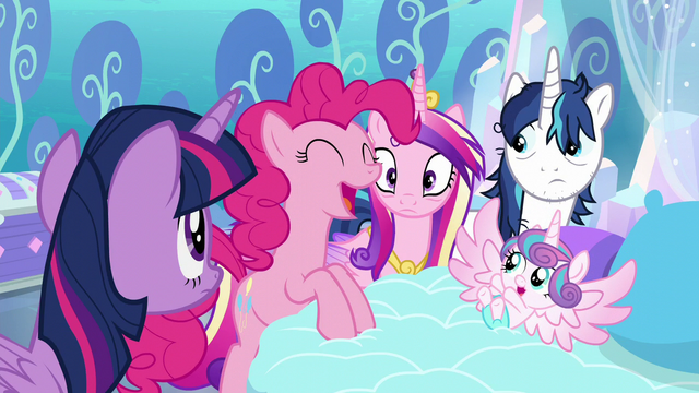 "File:Pinkie ""AND have crazy baby magic!"" S6E1.png"