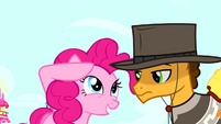 "Pinkie Pie ""I have a Pinkie Sense"" S4E12"