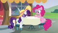 Rarity rests her head on the table S6E21.png