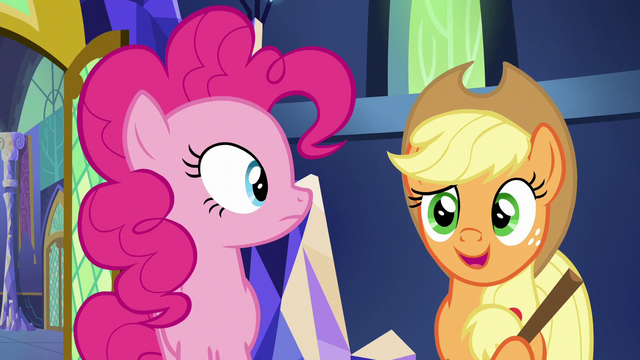 "File:Applejack ""didn't anypony tell you?"" S5E19.png"