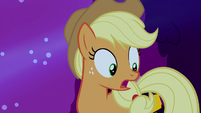 "Applejack ""oh, no!"" S5E13"
