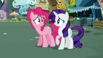Pinkie Pie Rarity not good S02E19