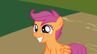 Scootaloo super cute smile S2E8