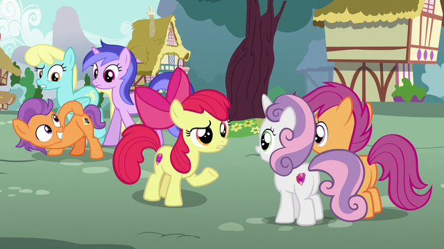"File:Apple Bloom ""one thing is for sure"" S6E4.png"