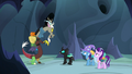 "Discord Changeling ""they know where it is!"" S6E26.png"