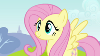Fluttershy awaiting anemometer test S2E22