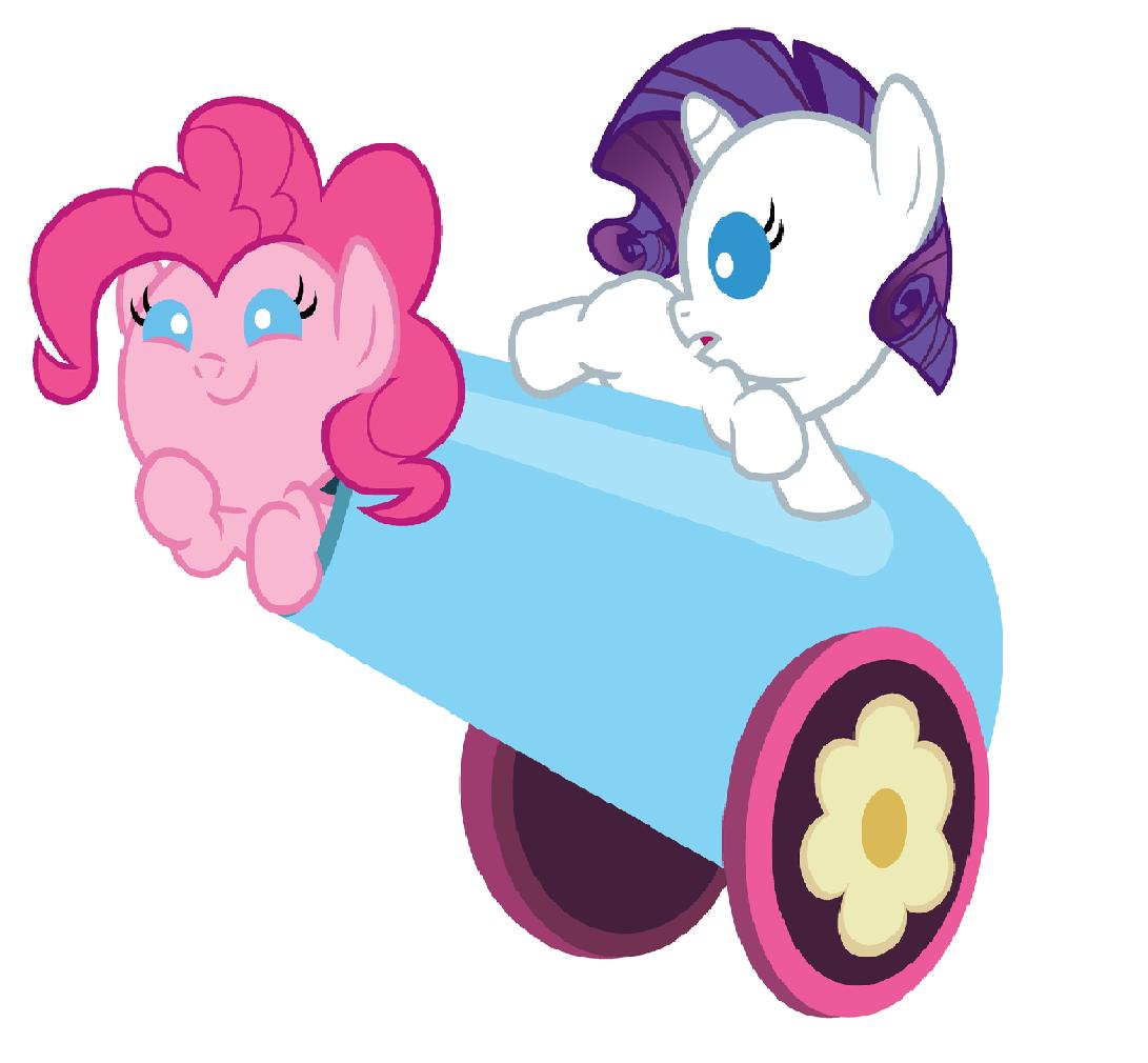 Imagen  Pinkie y rarity bebespng  My Little Pony La Magia de