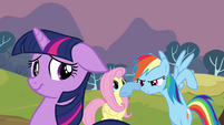 Rainbow Dash want to try again S2E22