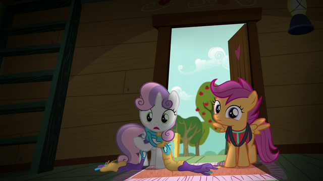 """File:Sweetie Belle """"looking for things you like to do"""" S6E4.png"""