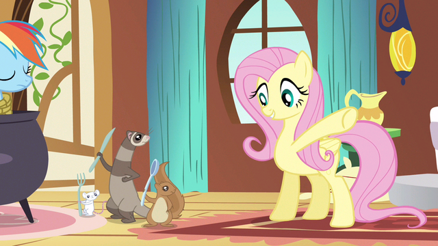 File:Fluttershy have a little snack S3E13.png