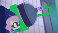 Mane-iac sprays Fluttershy with hairspray S4E06.png