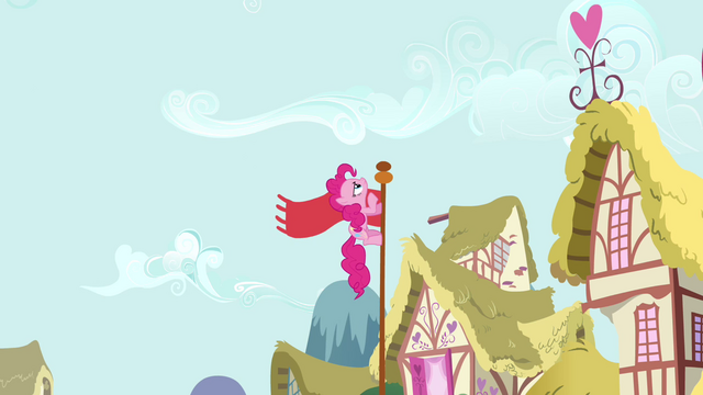 File:Pinkie Pie Climbing The Pole S02E18.png