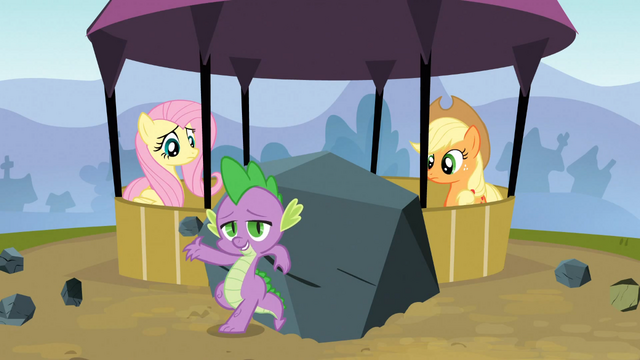 File:Rainbow Dash Topples the Tower 10 S3E09.png