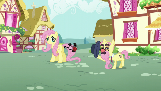 File:An elder pony tips his hat to Fluttershy S5E19.png